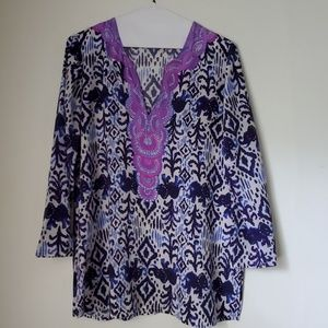 Lilly Pulitzer silk tunic